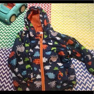Toddler 🦖 Dinosaur windbreaker jacket